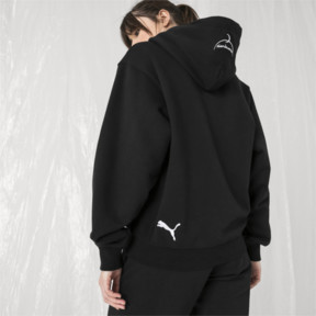 Thumbnail 7 of PUMA x SANKUANZ Hoodie, Cotton Black, medium