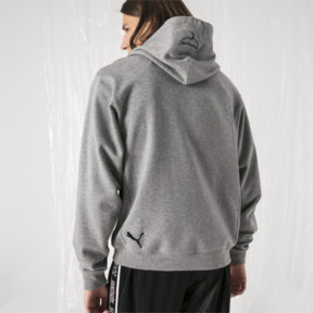 Thumbnail 3 of PUMA x SANKUANZ Hoodie, Medium Gray Heather, medium