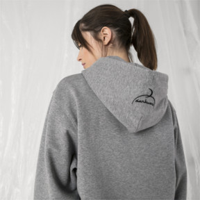 Thumbnail 7 of PUMA x SANKUANZ Hoodie, Medium Gray Heather, medium