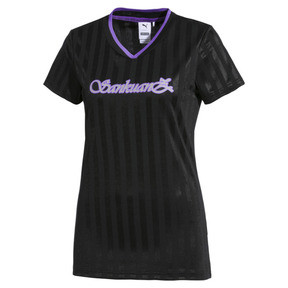 Thumbnail 1 of PUMA x SANKUANZ Women's Tee, Puma Black, medium