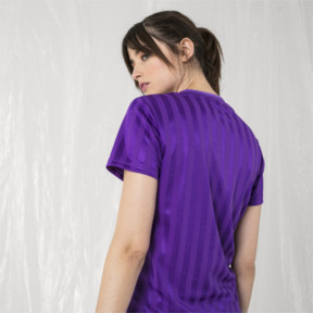 Imagen en miniatura 3 de Camiseta de mujer PUMA x SANKUANZ, ELECTRIC PURPLE, mediana