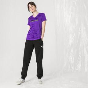 Imagen en miniatura 5 de Camiseta de mujer PUMA x SANKUANZ, ELECTRIC PURPLE, mediana