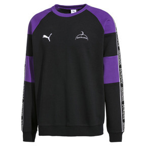 Thumbnail 1 of PUMA x SANKUANZ Crew Neck Pullover, Cotton Black, medium