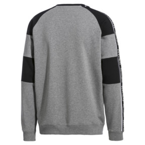 Thumbnail 4 of PUMA x SANKUANZ Crewneck Sweatshirt, Medium Gray Heather, medium