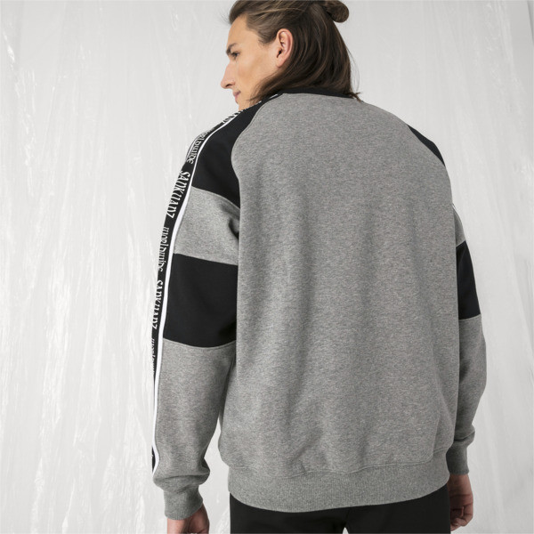 Sudadera con cuello redondo PUMA x SANKUANZ, Medium Gray Heather, grande