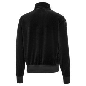 Thumbnail 2 of PUMA x THE KOOPLES Men's Velour Track Top, Puma Black, medium