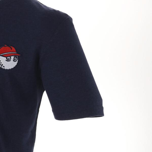 ゴルフ マルボン ティーシャツ, Peacoat, large-JPN
