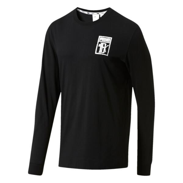 e48745c834 PUMA x Big Sean Logo Long Sleeve Shirt | PUMA Long Sleeve T-Shirts ...