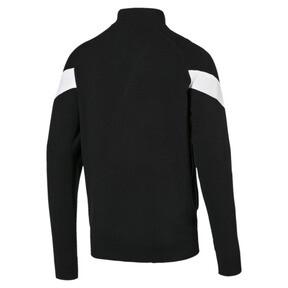 Thumbnail 4 of Iconic MCS evoKNIT Men's Track Jacket, Puma Black, medium