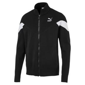 Thumbnail 1 of Iconic MCS evoKNIT Men's Track Jacket, Puma Black, medium