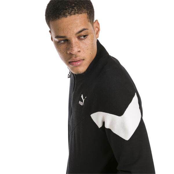 Iconic MCS evoKNIT Men's Track Jacket, Puma Black, large