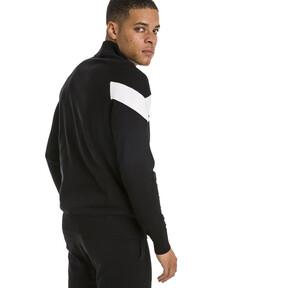 Thumbnail 3 of Iconic MCS evoKNIT Men's Track Jacket, Puma Black, medium