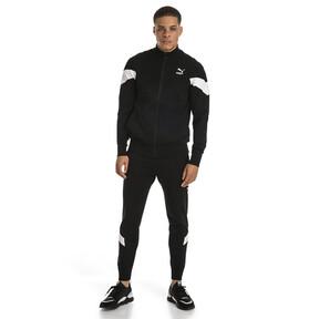 Thumbnail 5 of Iconic MCS evoKNIT Men's Track Jacket, Puma Black, medium