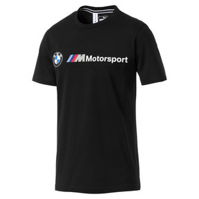 Thumbnail 4 of BMW M Motorsport Logo Men's Tee, Puma Black, medium