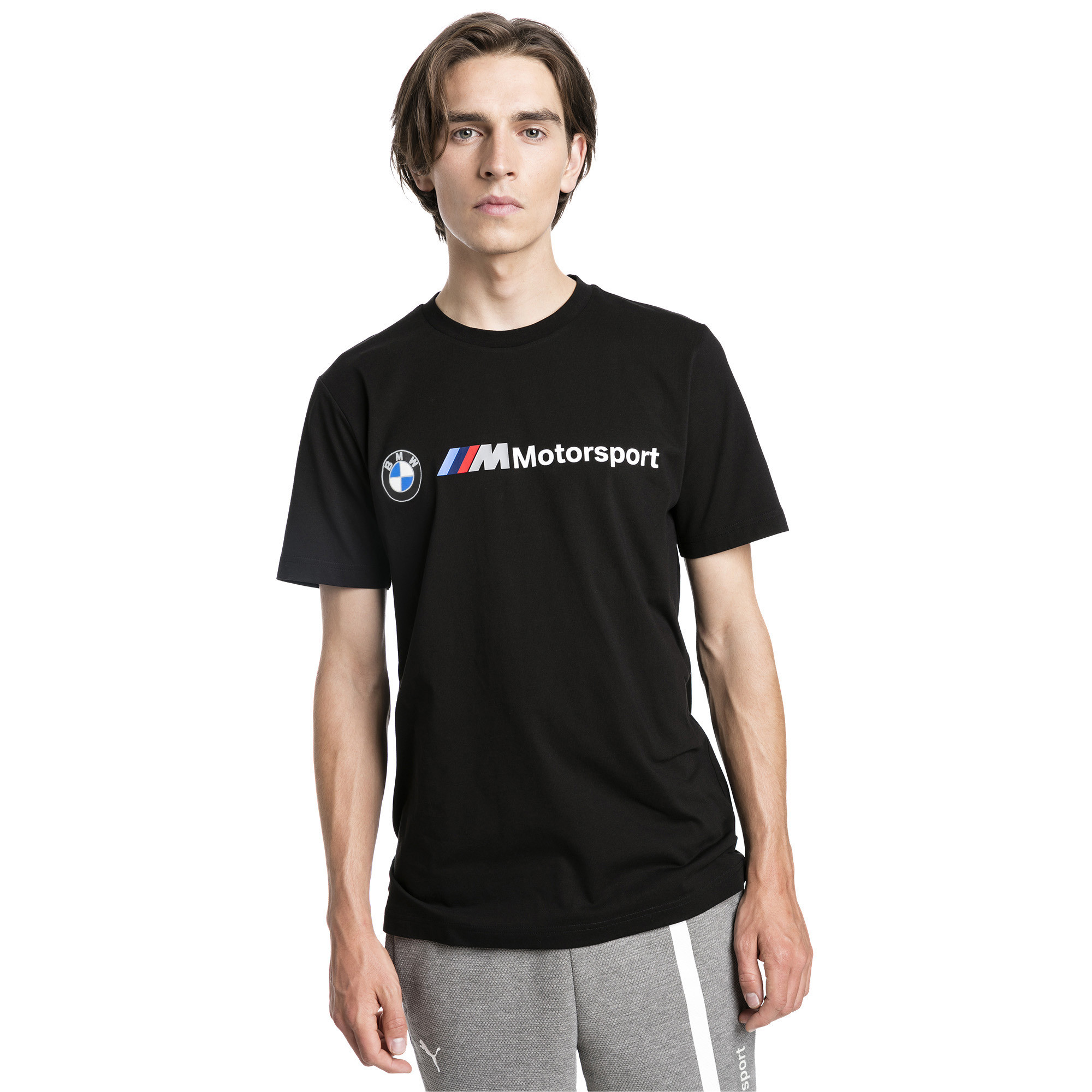 PUMA-BMW-M-Motorsport-Logo-Herren-T-Shirt-Maenner-T-Shirt-Neu Indexbild 4