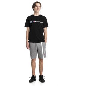 Thumbnail 3 of BMW M Motorsport Logo Men's Tee, Puma Black, medium