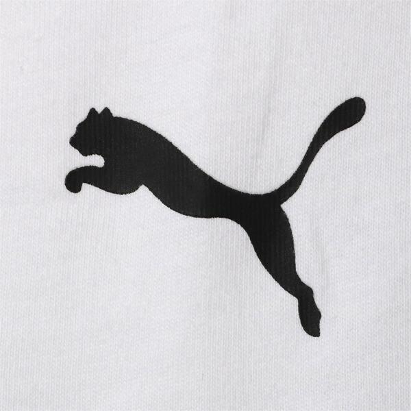 BMW M モータースポーツ ロゴ Tシャツ, Puma White, large-JPN