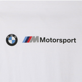 Thumbnail 9 of BMW M モータースポーツ ロゴ Tシャツ, Puma White, medium-JPN