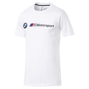 Thumbnail 4 of BMW M モータースポーツ ロゴ Tシャツ, Puma White, medium-JPN
