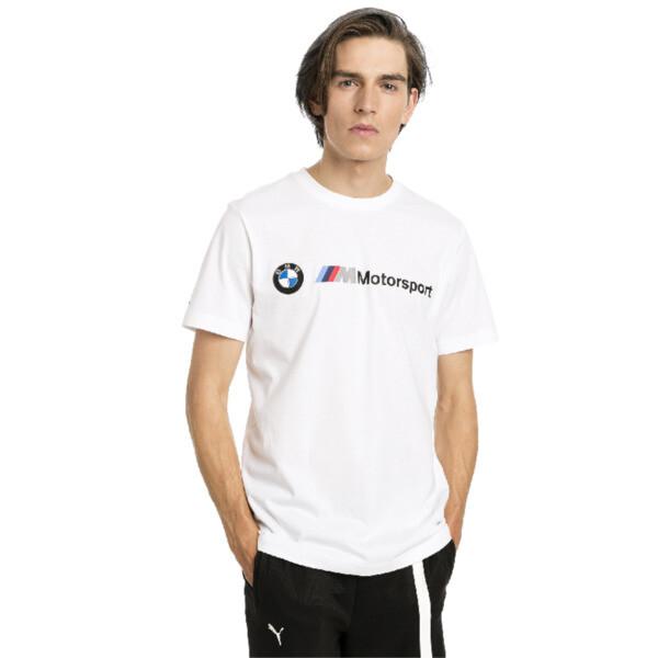 BMW MMS Logo Tee, Puma White, large