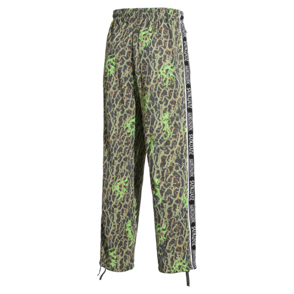PUMA x SANKUANZ Men's Track Pants, -Fluro Green, large