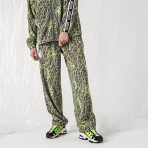 Thumbnail 2 of PUMA x SANKUANZ Double Knit Men's Track Pants, -Fluro Green, medium