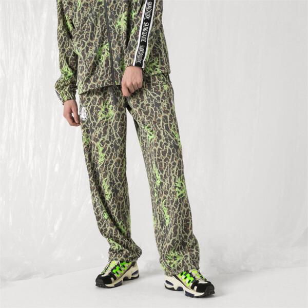 PUMA x SANKUANZ Double Knit Men's Track Pants, -Fluro Green, large