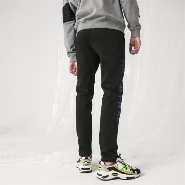 PUMA x SANKUANZ Men's Fitted Pants, Puma Black, large
