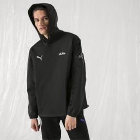 Thumbnail 2 of PUMA x SANKUANZ WINDBREAKER, Puma Black, medium-JPN