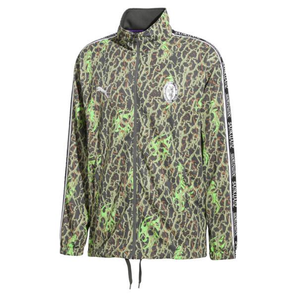 PUMA x SANKUANZ Double Knit Men's Track Top, -Fluro green, large