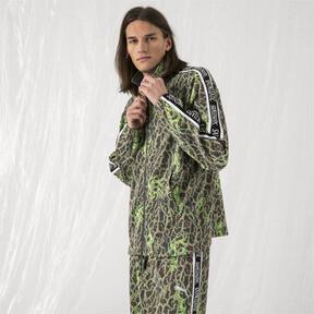 Thumbnail 2 of PUMA x SANKUANZ Double Knit Men's Track Top, -Fluro green, medium