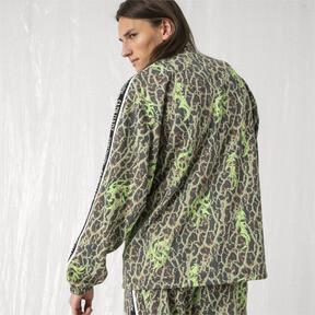 Thumbnail 3 of PUMA x SANKUANZ Double Knit Men's Track Top, -Fluro green, medium