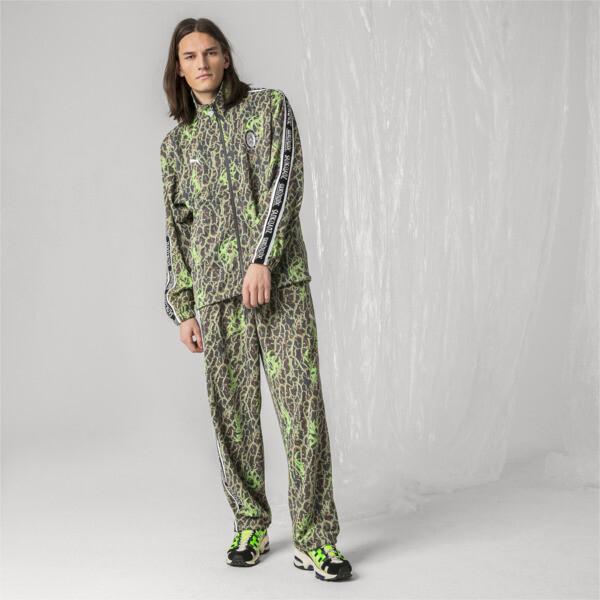 PUMA x SANKUANZ Men's Track Top, -Fluro green, large