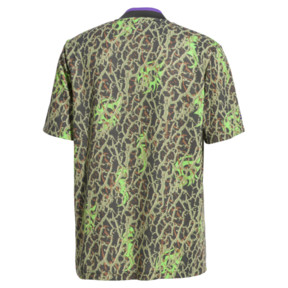 Thumbnail 4 of PUMA x SANKUANZ Short Sleeve Men's Tee, -Fluro green, medium