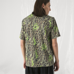 Thumbnail 3 of PUMA x SANKUANZ Short Sleeve Men's Tee, -Fluro green, medium