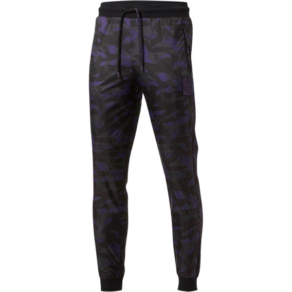 PUMA x PRPS Opulent Sweats, Puma Black-AOP Camo, large