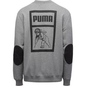 Thumbnail 2 of PUMA x PRPS Supply Men's Crewneck Sweatshirt, MGH-Puma Black, medium