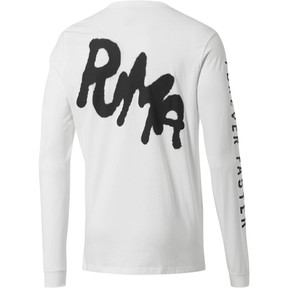 Thumbnail 2 of PUMA x PRPS Men's Long Sleeve Tee, Puma White, medium