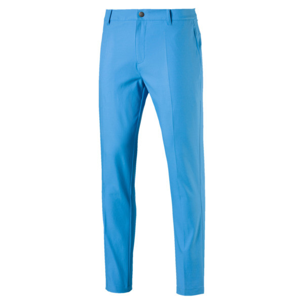 Tailored Jackpot Woven Men's Golf Pants, Bleu Azur, large