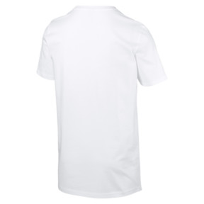 Thumbnail 5 of Graphic Logo No. 2 Short Sleeve Men's Tee, Puma White, medium
