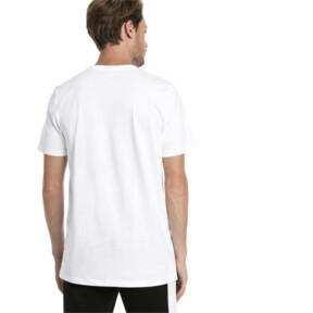Thumbnail 2 of Graphic Logo No. 2 Short Sleeve Men's Tee, Puma White, medium