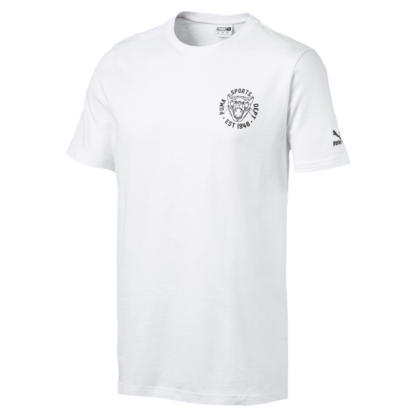 f35ceecfb10 Graphic Vintage Cat Men's Tee | Puma White | PUMA T-Shirts | PUMA ...