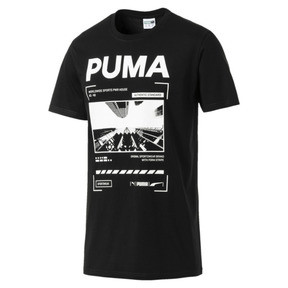 Thumbnail 1 of Graphic Epoch Photo Men's Tee, Cotton Black, medium