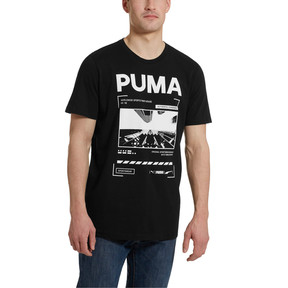 Thumbnail 2 of Graphic Epoch Photo Men's Tee, Cotton Black, medium
