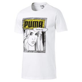 Thumbnail 1 of Graphic Comics Tee, Puma White, medium