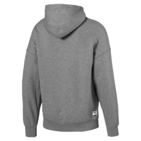 Thumbnail 4 of Sweatshirt à capuche tricoté Downtown pour homme, Medium Gray Heather, medium