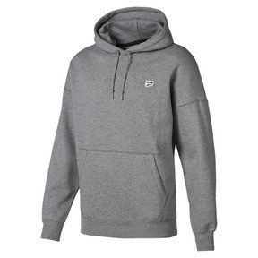 Thumbnail 1 of Sweatshirt à capuche tricoté Downtown pour homme, Medium Gray Heather, medium