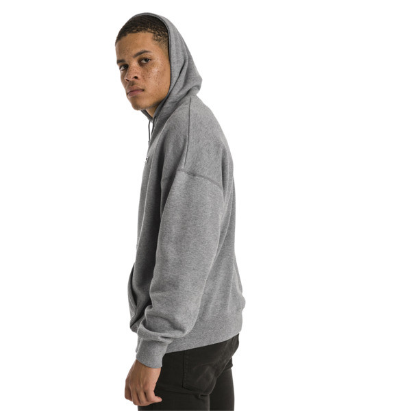 Sweatshirt à capuche tricoté Downtown pour homme, Medium Gray Heather, large