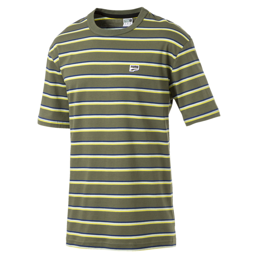 Изображение Puma Футболка Downtown Stripe Tee #1