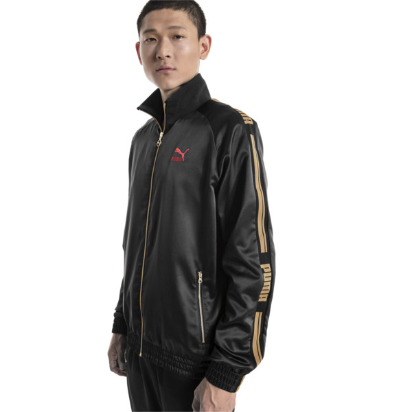 LUXE PACK Track Jacket, Puma Black, large